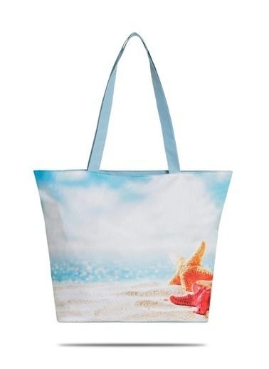 Fudela Plaj Çantası Renkli